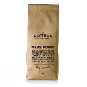 Baytown Ness Point Burr Ground Decaffeinated Coffee 250g