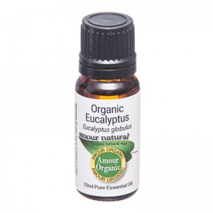 Amour  Eucalyptus Essential Oil Organic  10ml