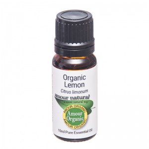 Amour Lemon Essential Oil Organic 10 ml