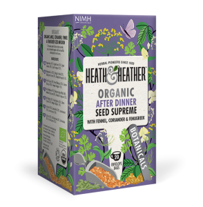 Heath & Heather Organic Digestive Super Seeds Tea