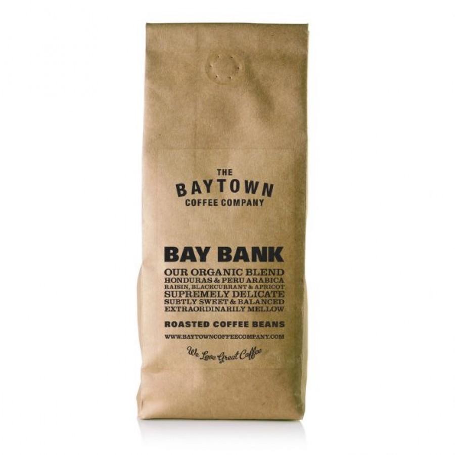 Baytown Organic Bay Bank Burr Ground Coffee 250g