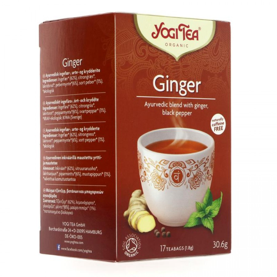 Yogi Ginger Tea 17 bags
