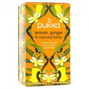 Pukka Lemon Ginger & Manuka