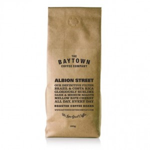 Baytown Albion Street Burr Ground Coffee 250g